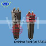 WHB-4.0DC stainless steel shell and tube heat exchange, stainless steel coil in shell heat exchanger