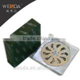 WESDA 4inch new style floor drain casting Stainless Steel Floor Drain grates drainage channel