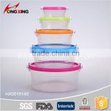 fashion PP Food safty cereal storage box container