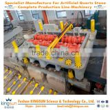 Hot sale quartz stone making machine for pressing/pressing machine for making artificial quartz stone