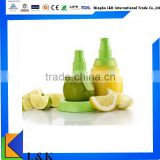 eco-friend plastic fresh friut juice citrus spsry/lemon squeeze sprayer mist for extractor set