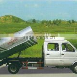Dongfeng mini dumper garbage truck DFD5030ZLJ5 double cab