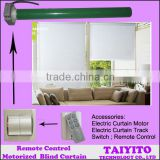 Roller Blind with motor, electric curtain track, curtain switch, remote control electric-drive roller blinds