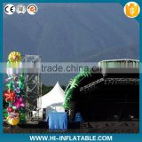 2015 stage decoration inflatable star for christmas party ,Light Inflatable Hanging stars