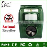 GH-501 Electronic Pest Control Repellent with Flashing LED Lights to Scare Away Most Types of Pests