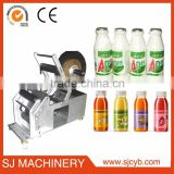 Semi automatic glass wine bottle labeling machine / semi-auto price label printing machine                                                                         Quality Choice