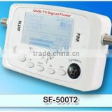 New professional portable DVB-T2 signal finder DVB-T signal level meter terrestrial meter SF-500T2