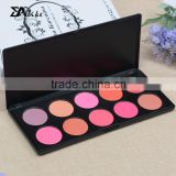Professional mineral cosmetic empty makeup brush blusher blush containers