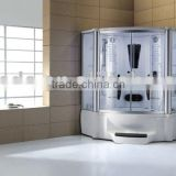modern style steam shower room;luxurious designed steam room;steam and foot massage shower room WS-608A