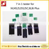 Hot offer 7 in 1 Mobile LCD tester & digitizer tester touch screen tester for iphone 4 4S 5 5C 5S 6 6 Plus