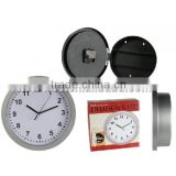 WALL CLOCK WITH HIDDEN SAFE COMPARTMENTS SECRET STASH JEWELLERY MONEY
