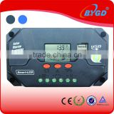 mppt solar charge controller 30a for charge 100ah 200ah battery smart controller USB output                                                                         Quality Choice