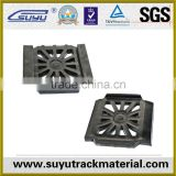 plain rubber bearing pad