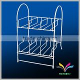 China supplier durable customized attractive metal fashionable trade show shoe display stands