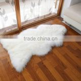 natural real long wool Australian sheepskin sofa cushion rugs hotel bedroom warm winter car seat chair cushion