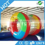 Funny swimming pool rolling water roller ball,inflatable zorbs water rollers,water roller ball