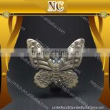 home decoration metal butterfly curtain clip