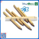 Wholesale custom printed 3.5 inch wooden pencil for school students with high quality from China
