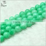 Natural Cold Jade Gemstone Loose Beads Strand Natural Round Crystal Energy Stone Healing Power for DIY Jewelry Making