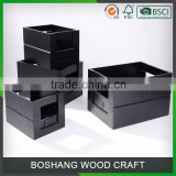 my test Paulownia Wooden Container Storage Wood Box Kit                                                                         Quality Choice