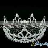 pageant round tiara crown