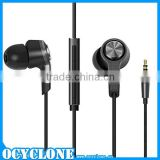 Piston 3 Earphone with Microphone for xiaomi color black