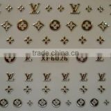 20 Designs Golden&Silver Nail Art Water Decal Sticker Transfer Stickers (XF6021-6040)HN1808