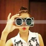 "Luxury Fashion Cartoon 3D CXXEL sun glass sunglasses cover cases For iPhone 6 4.7"" inch 5.5"" Plus"