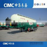 (diesel engine, air compressor optional) V shaped transport bulk cement powder tanker trailer
