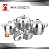 stainless stove casserole hot pot set with After 5 layer bottom