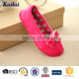 Trendy new design flats cheap ballet shoes