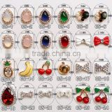 new arrival fancy small metal alloy with rhinestone jewelry for nail art                                                                         Quality Choice