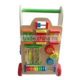 lovely wooden baby walker