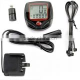 Waterproof LCD Cycle Bike Computer Odometer Speedometer Wireless Bicycle Computer