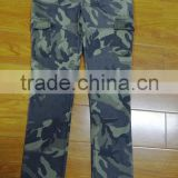 2015 Multi-Functional Quick Dry Unisex 100% Cotton Stretchable Camo Hunting Pants Women