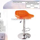 PU/PVC leather swivel bar chairs high chair/antique bar stools for sale