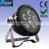 IP65 waterproof led light 6*6in1 rgbwa+uv battery powered led uplight wireless dmx led stage flat par cans uplighting