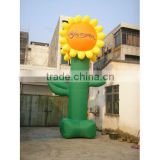 inflatable sunflower stand flower inflatable giant inflatable sunflower inflatable plant