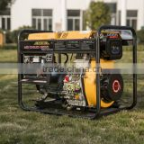 NIMBUS 2015 New Portable Single Phase 10HP Diesel Engine Powered Open-type Diesel 5KW Generator for sale