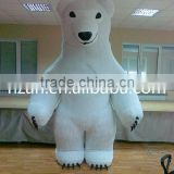 Inflatable White Bear Costume/ Inflatable Cartoon Mascot Costumes