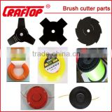 High quality Spare parts for brush cutters (blade,carburetor,belt,trimmer````````all kinds)