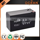 Electronic durable 12V big stock 7ah deep cycle battery price
