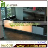 2014 Made in China mobile wooden shop counter design, coffee shop counter design