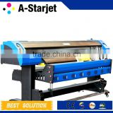 Large Format DX5 Eco Solvent Printer A-Starjet, RIP Software for Printing, Photo-Paper, Vinyl Printing, CMYK 4 Color