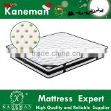 High degree zero partner disturbance pocket spring noiseless mattress organic latex upholster