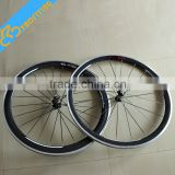 Factory sale 303 700c bicycle wheels 50mm full ccarbon bicycle wheels novatec 271 hubs chinese bicycle wheel on sale