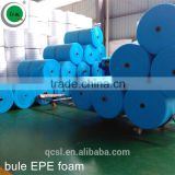 0.5mm,1mm,1.5mm blue epe foam roll epe foam Loose Fill Packaging Material EPE Foam Wrapping EPE Film EPE underlayment