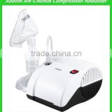 Portable nebulizer with rechargeable battery with respirators mask