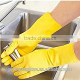 factory wholesale garden rubber safety work latex household cleaning glove with CE certificate