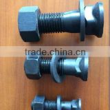 Grade 12.9 glader blade cutting edge plow bolt nut